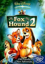 FOX AND THE HOUND PART 2 (2007) Jim Kammerud BRAND NEW AND SEALED UK R2 DVD