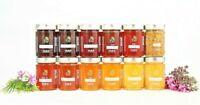 Raw Organic Honey Pure   Cold Extract   ORGANIC 470G JAR  Bio Certified EST 1810