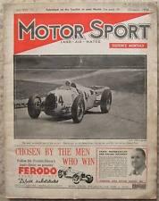 MOTOR SPORT Magazine Dec 1936 Vol 13 No 1 New Bugatti's