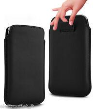 Custodia Cover Pull Tab SACCHETTO Sacca Astuccio borsa per Wiko Fever 4G - Nera