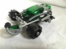 Lego Green Techinics Green Gray Space Car For Parts Missing Pieces