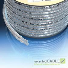 HICON Ambience 2 x 2,5mm² haut-parleur-Câble Argenté au mètre | hia-225