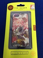 Ted London Baker iPhone 5 5S SE iPhone 6 6S Silicone Case/Peony-New In Box