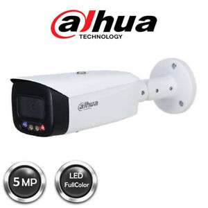 Dahua 5MP Full-colour Active Deterrence Fixed-focal Bullet WizSense Network Came