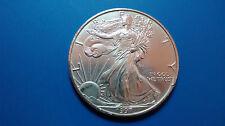MONEDA DE PLATA PURA  0.999/1000 EEUU Liberty Eagle  AÑO 1997 1 ONZA  EN CAPSULA
