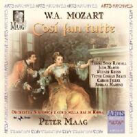 Peter Maag - Mozart: Cosi fan tutte [CD]