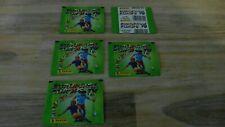 5 POCHETTES DE L 'EURO 96