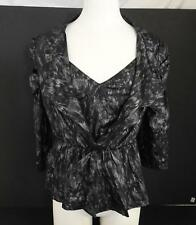 NWT Pretty Angel Womens Bolero Jacket Matching Camisole Set Grey Gray Black L W6