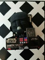 Disney Star Wars Darth Vader Collectable Plush with Enamel Pin