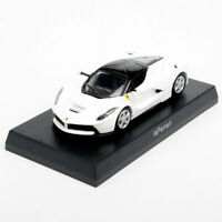 KYOSHO 1/64 LaFerrari Ferrari Car Vehicles Model White Diecast Toy Collection