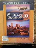 Bob Jones Writing And Grammar 10