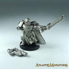 Metal Space Marine Captain - Warhammer 40K X1496