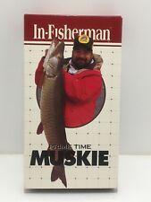 In Fisherman Vhs Video Prime Time Muskie Vintage Fishing 1997 Musky