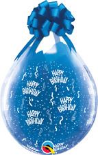 "3 x Qualatex 18"" Weithalsballons HAPPY BIRTHDAY (VERPACKUNGSBALLON*GEBURTSTAG)"
