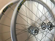 Campagnolo Record Track Clincher Wheelset, Mavic CXP14 Rims, 24/24h