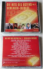 HITS DES OSTENS (1) Schlager-Erfolge - Manfred Krug, Muck,... Amiga/Sony CD NEU