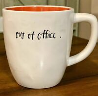 Rae Dunn Out Of Office Coffee Tea Mug Artisan Collection by Magenta Ivory/Red