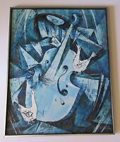 YONG WOO LEE PAINTING SCULPTURE CUBISM EXPRESSIONISM ABSTRACT MODERNISM MUSICIAN