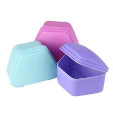 Safe T Shape Storage Box Denture Case False Teeth Container Plastic Storage Box