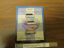 Keithley Test & Measurement 1997 Catalog & Reference Guide With Price List