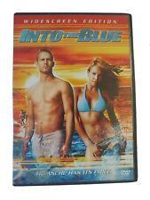 Into The Blue- Widescreen Edition (DVD) 2005 Paul Walker Jessica Alba