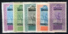 SOUDAN 1925 Yvert 37-41 ** POSTFRISCH TADELLOS (F4117