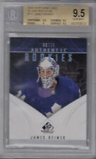 09-10 SP Game Used James Reimer Silver Spectrum Rookie Card RC 09/10 BGS 9.5
