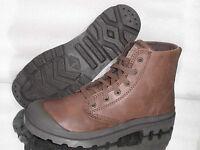 PALLADIUM Pampa HI Leather Mens Boots 02355255 Chocolate Neu