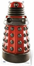 RED Dalek Drone Doctor Who LifeSize cartone ritaglio