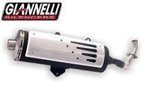 Pot d'echappement Giannelli complet Apprilia Scarabeo 125 150 (rotax) 99-03