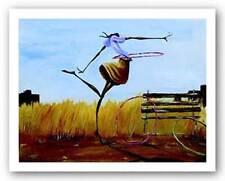 AFRICAN AMERICAN ART PRINT Hoops by Frank Morrison