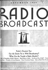 Vintage RADIO BROADCAST Magazines on DVD * 1922 - 1930
