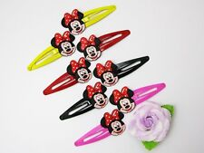 8 Minnie Mouse Barrette Colorful Hair Clip Girl Children (8 pieces) Gift MK919