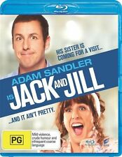 JACK AND JILL (BLU-RAY) BRAND NEW SEALED - ADAM SANDLER