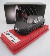 Maserati Levante en NOIR MAT BBR limité à 30 Pièce 1:43 Nouveau neuf dans sa boîte