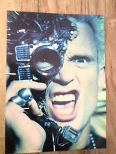 BILLY IDOL 'eye eye' magazine PHOTO/Poster/clipping 11x8 inches