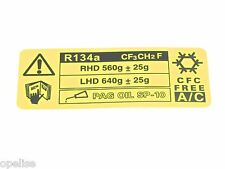Echt New MG ROVER CAUTION DECAL For 200 Cabriolet Coupe & 400 Tourer 1996+