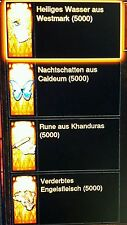 Diablo 3 Ros - Crafting Mats - Kanais Cube + Gold - PS4 / Xbox One