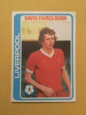 Liverpool Football Trading Cards 1979-1980 Season