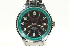 Vostok Century Time automatic mechanical watch 2416b, black-green dial, 42mm