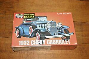 1/32 1932 CHEVROLET CABRIOLET MODEL KIT LIFE LIKE HOBBY KITS FREE S/H