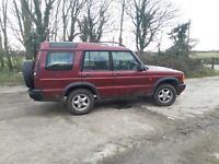 Land Rover Discovery td5 - 2000 X reg - Mot 20/10/2021