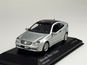 Minichamps 1:43: Mercedes-Benz C-Klasse 2000, silbermetallic