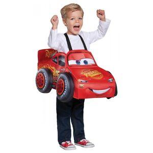 Lightning McQueen 3D Costume Cars Halloween Fancy Dress