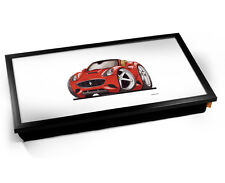 FERRARI California voiture caricature Koolart Ordinateur Portable TV plateau de tour
