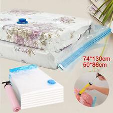 10 X Vakuumbeutel Vacuu Vacuum Aufbewahrungsbeutel für Betten und Kleidung