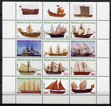 Niederländische Antillen 2009 Hist. Segelschiffe Ships Navi Bateaux 1760-1771
