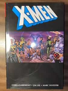 Hot 0.99!  SEALED X-Men Omnibus HC By Chris Claremont and Jim Lee 2nd Print 2021