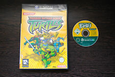 Jeu TEENAGE MUTANT NINJA TURTLES (sans notice) pour Nintendo Game Cube GC PAL