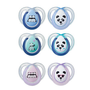 Tommee Tippee  Anytime Orthodontic Soother  Age 0-6m  Boys or Girls    Bpa Free